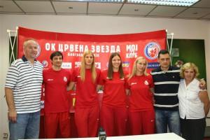 Siniša Pantović, Ratko Pavličević, Ana Bjelica, Olivera Kostić, Bojana Radulović, Zoran Terzić i Vera Šakota