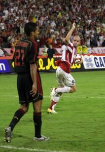 Гол против Милана