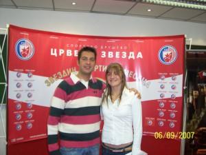 Srđan Filipović i Milica Ostojić