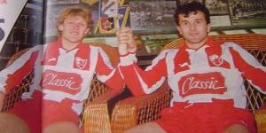 Robert Prosinečki i Dejan Savićević