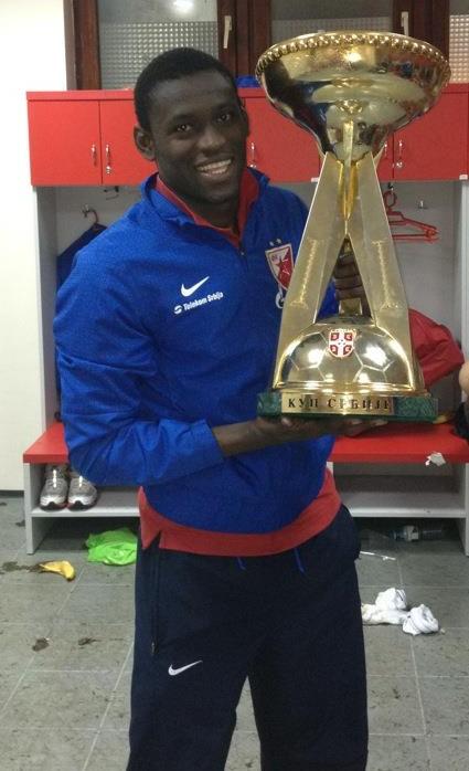 Борха са освојеним трофејом Купа