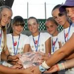 Три титуле за млађе категорије у тенису