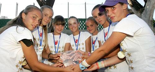 Тенис млађе категорије
