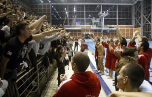 Славље након победе у ватерполу, фото Бане Т. Стојановић