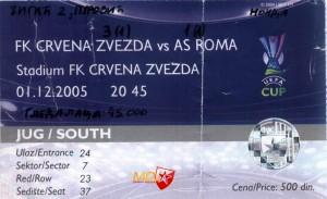 CZ -Roma 3-1 2005