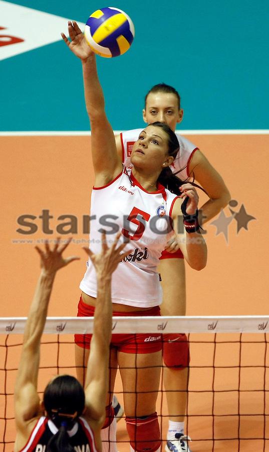 Odbojka, Kup CEV, final four Crvena Zvezda Vs. Samorodok (Russia) Natasa Sevarika Beograd, 16.03.2008. foto: Srdjan Stevanovic