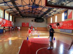 Košarkašice, početak pripreme
