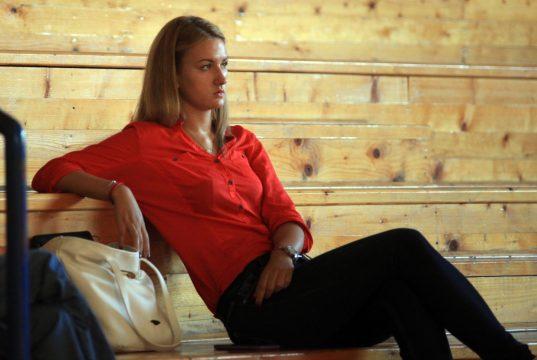 Nataša Kovačević, kamp KKŽ Crvena zvezda