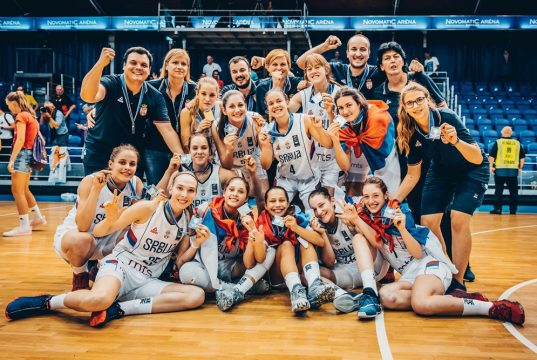 Juniorke Srbije vicešampionke, Katanić u idealnoj petorci