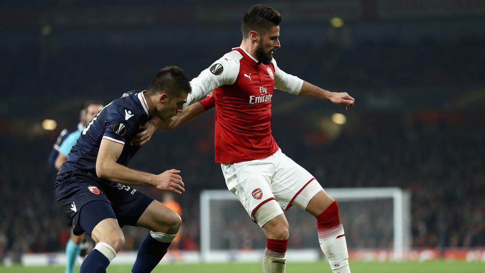 Арсенал - Црвена звезда 0:0