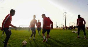 први тренинг на Кипру
