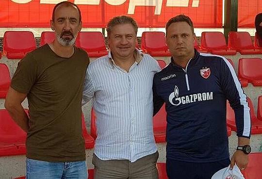 Андреј Канчелскис посетио Звезду