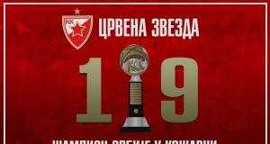 Crvena zvezda je šampion Srbije