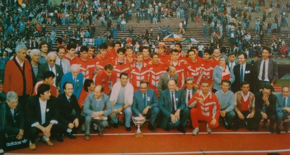 Атлетичари Црвене звезде који су освојили титулу шампиона Европе